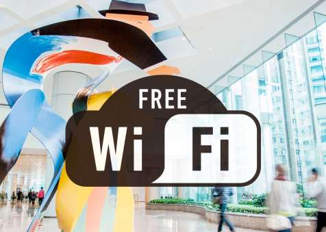 Free WiFi Service at Taikoo Place