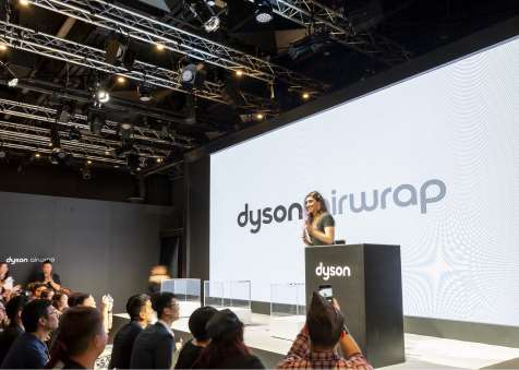 Dyson Launch event in Hong Kong