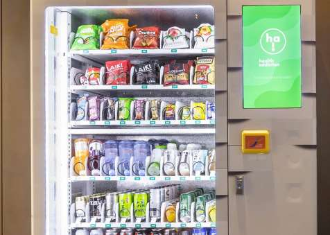 Healthy Snack Vending Machine